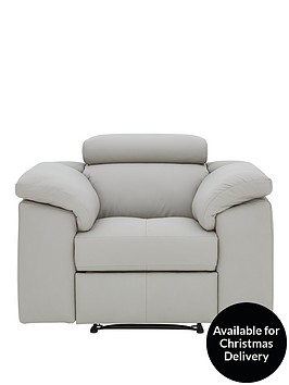 brady-faux-leather-manual-recliner-chair