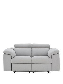 Brady Fabric 2 Seater Manual Recliner Sofa thumbnail