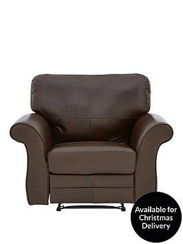 vantage-leather-manual-recliner-armchair