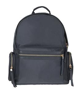 accessorize-lizzie-nylon-backpack-grey