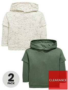 mini-v-by-very-boys-pack-of-2-lightweight-layered-detail-overhead-hoodiesnbsp--greykhaki