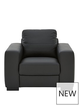 morton-real-leatherfaux-leather-armchair