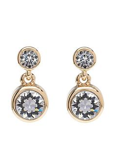 karen-millen-crystal-dot-drop-earrings