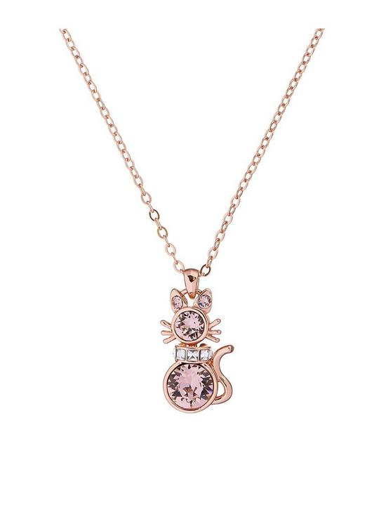 Ted Baker Ted Baker Salima Swarovski Crystal Cat Pendant Very Co Uk