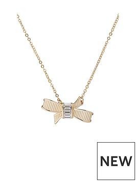 ted-baker-dameka-ribbon-bow-pendant-pale-gold