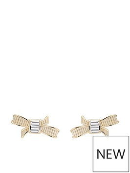 ted-baker-delicia-mini-ribbon-bow-stud-earrings-pale-gold
