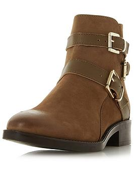 Dune London Dune Pheonixx Three Buckle Ankle