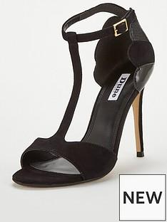 dune-london-mytho-scallop-mix-material-heeled-sandal-black