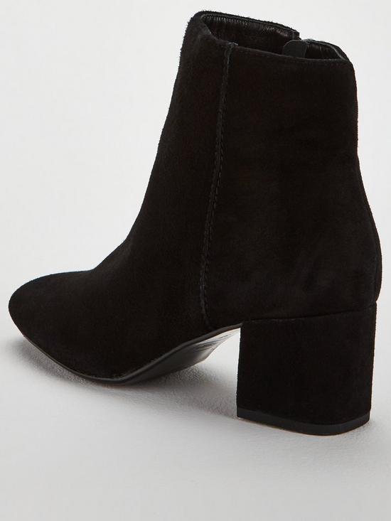 4ae141a26c1 Dune London Olyvea Block Heel Ankle Boot - Black | very.co.uk