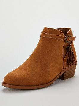 Head Over Heels Palomma Flat Ankle Boot