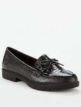 Head Over Heels Gemmy Loafer - Black