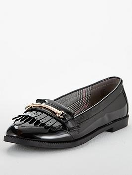 Head Over Heels Goldiie Loafer - Black Patent