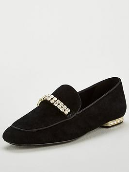 Dune London Dune Gara Diamante Trim Loafer