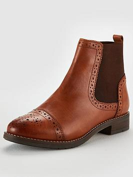 Dune London Dune Wide Fit Queston Elastic Detail Chelsea Boot