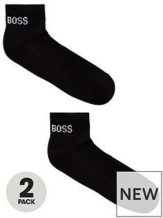 boss-bodywear-2-pack-logo-ankle-socks-black