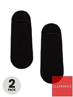 boss-bodywear-2-pack-shoe-liner-socks-black