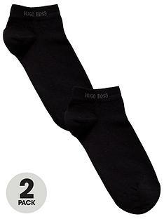 boss-bodywear-2-pack-trainer-socks-black