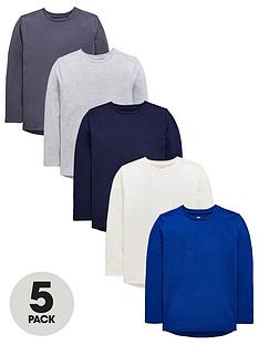 v-by-very-5-pack-long-sleeved-tee039s
