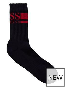 hugo-boss-logo-sock