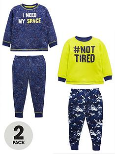 mini-v-by-very-boys-pack-of-2-i-need-space-not-tired-pyjama-set-multi