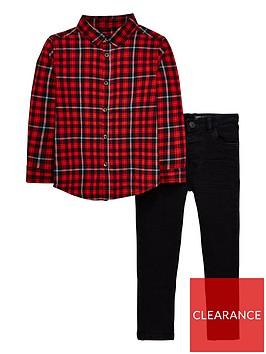 mini-v-by-very-boys-2-piece-long-sleeve-shirt-and-black-skinny-jean-multi