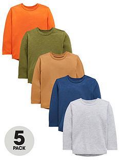 mini-v-by-very-boys-5-pack-long-sleeved-t-shirts-multi