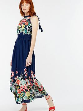 monsoon-rosaline-print-midi-dress-navy