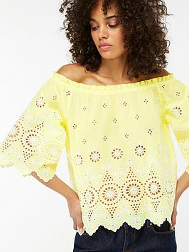 monsoon-sol-shiffly-off-the-shoulder-top-yellow