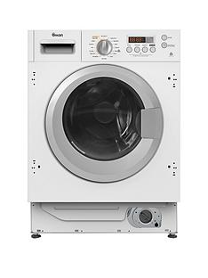 Swan SWB75110 8kg Wash, 6kg Dry, 1400 Spin Integrated Washer Dryer - White