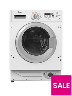 Swan SWB75110 8kgWash,6kg Dry, 1400 Spin Integrated Washer Dryer - White