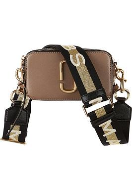 marc-jacobs-snapshot-striped-cross-body-bag--nbsptan
