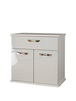 swift-neptune-ready-assembled-high-gloss-compact-sideboard-greynbsp10-day-delivery-service