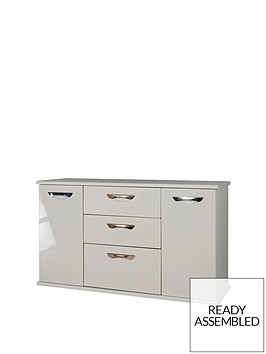 swift-neptune-ready-assembled-high-gloss-large-sideboard-grey-10-day-delivery-service