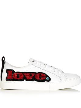 marc-jacobs-love-embellished-empire-trainersnbsp--white