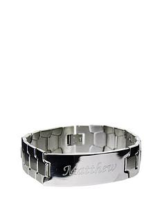 personalised-stainless-steel-identity-bracelet