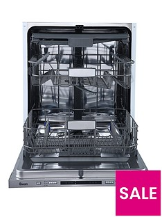 Swan SDWB75110 Integrated 14-Place Full Size Dishwasher - Stainless Steel