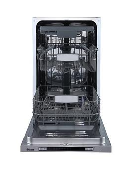 Swan Sdwb75120 10-Place Integrated Slimline Dishwasher - Stainless Steel Best Price, Cheapest Prices