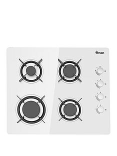 swan-sxb7040w-60cm-wide-gas-hob-white