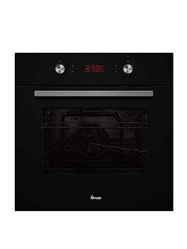 swan-sxb75250b-60cm-electric-multifunction-single-oven-black-glass