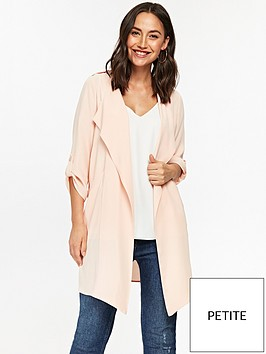 wallis-marcel-waterfall-jacket-blushnbsp