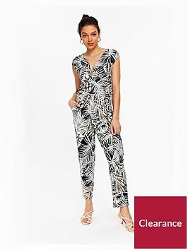wallis-petite-jumpsuit-palm-print
