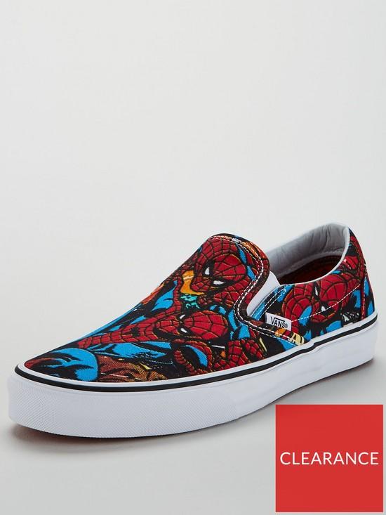 d770323d19 Vans Classic Slip-on Marvel Spiderman