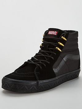 vans-sk8-hi-marvel-black-panther-black