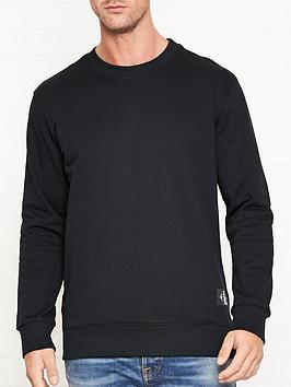 calvin-klein-jeans-monogram-patchnbsplogo-sweatshirt-black