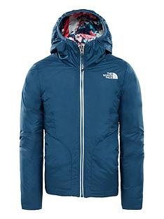 20c6fff50c10 THE NORTH FACE Girls Reversible Perrito Jacket
