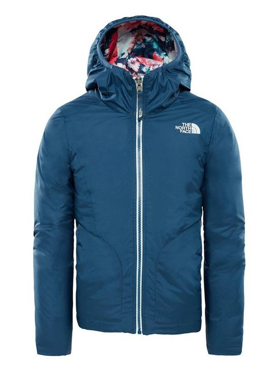 ff0f9b94c291 THE NORTH FACE Girls Reversible Perrito Jacket