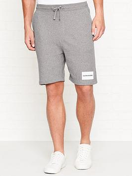 calvin-klein-jeans-institutional-logo-slim-jogger-shorts-grey