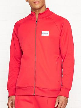 calvin-klein-jeans-logo-patch-zip-through-track-jacketnbsp--red
