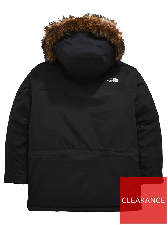 0f9839e50 The North Face Boys Mcmurdo Down Parka Jacket - Black