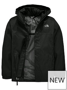 the-north-face-boys-resolve-hooded-jacket-black